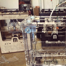 Bill Steele on 3-D Printing with the Ultra-bot 3D Printer
