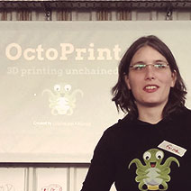 Building a better 3D printer (with software!) with OctoPrint's Gina Häußge