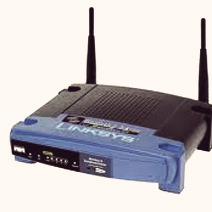 The LinkSys WRT54GL Router